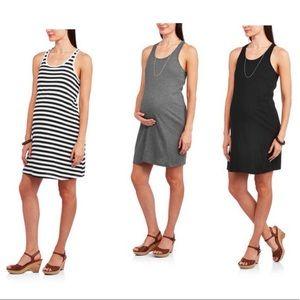 Dresses & Skirts - 3 Maternity Razorback Dresses
